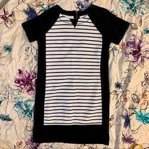 Black and White Striped Lou & Grey Dress